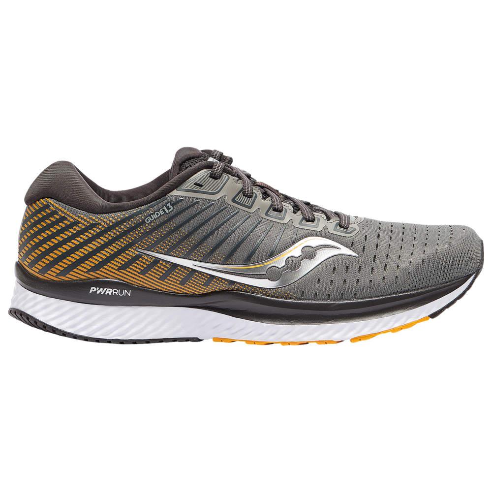 サッカニー Saucony メンズ ランニング・ウォーキング シューズ・靴【Guide 13】Grey/Yellow
