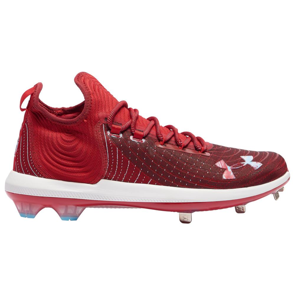アンダーアーマー Under Armour メンズ 野球 シューズ・靴【Harper 4 Low St】Red/Red