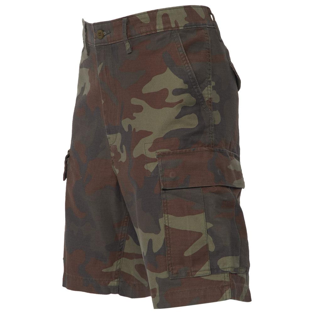 リーバイス Levi's メンズ ショートパンツ カーゴ ボトムス・パンツ【Carrier Cargo Shorts】Dark Phalerope Camo Back Satin