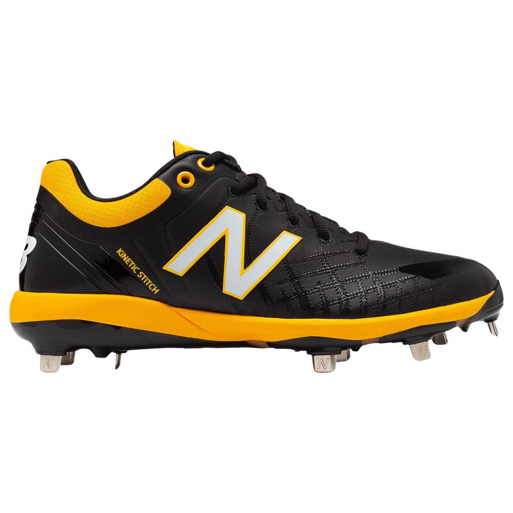 ニューバランス New Balance メンズ 野球 シューズ・靴【4040v5 Metal Low】Black/Yellow