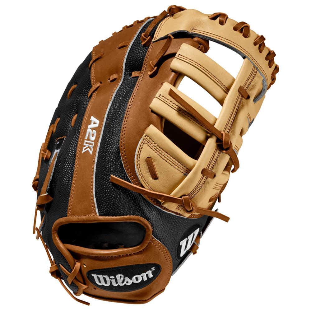 ウィルソン メンズ 野球 グローブ 【サイズ交換無料】 ウィルソン Wilson メンズ 野球 ファーストミット グローブ【A2K 2820 First Base Mitt】