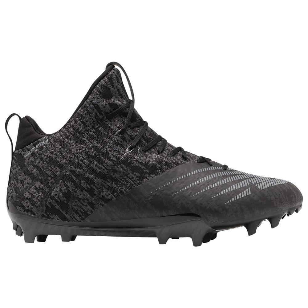 ニューバランス New Balance メンズ ラクロス シューズ・靴【Burn 11 Mid】Black/Grey