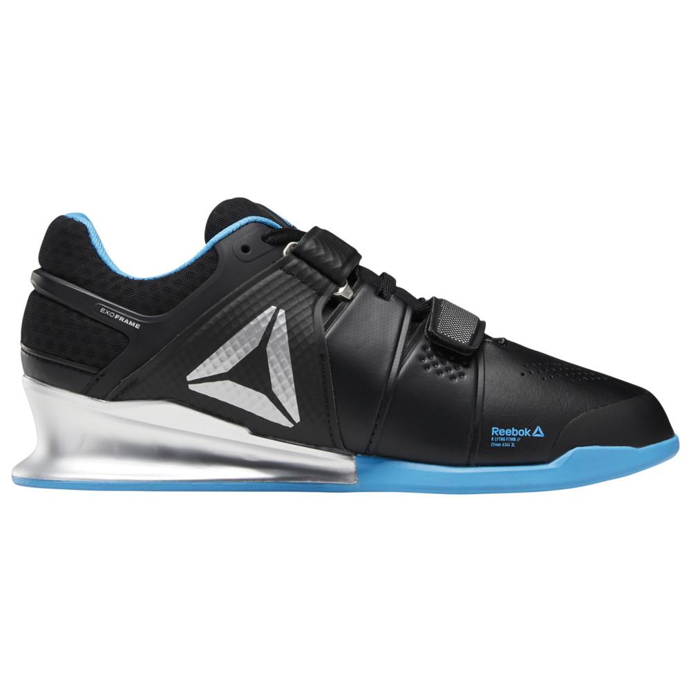 リーボック Reebok メンズ フィットネス・トレーニング シューズ・靴【Legacy Lifter】Black/Beight Cyan/Matte Silver