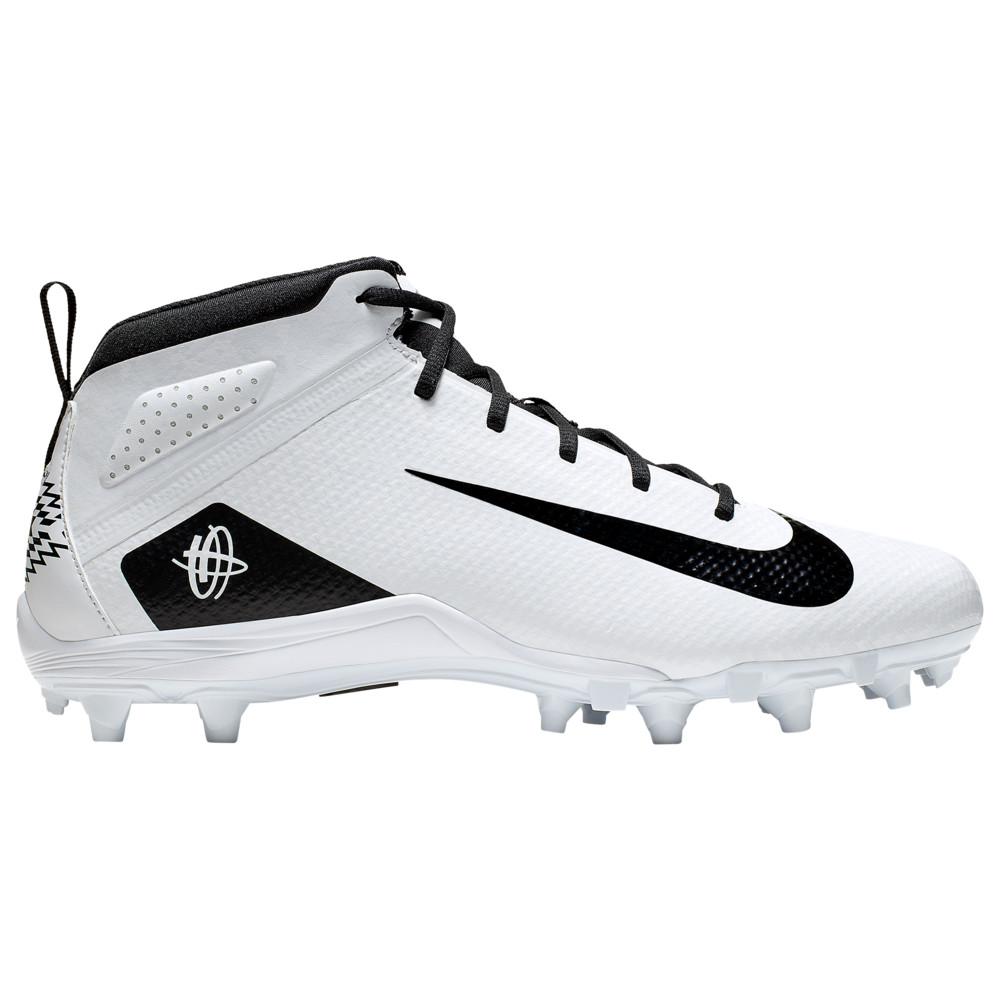 ナイキ Nike メンズ ラクロス シューズ・靴【Alpha Huarache 7 Varsity LAX】White/Black/White