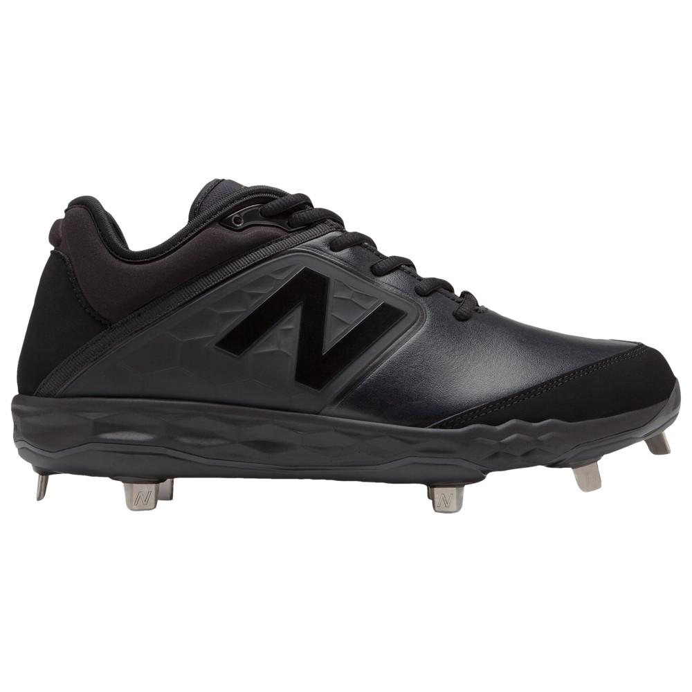 ニューバランス New Balance メンズ 野球 シューズ・靴【3000v4 Metal Low】Black/Black