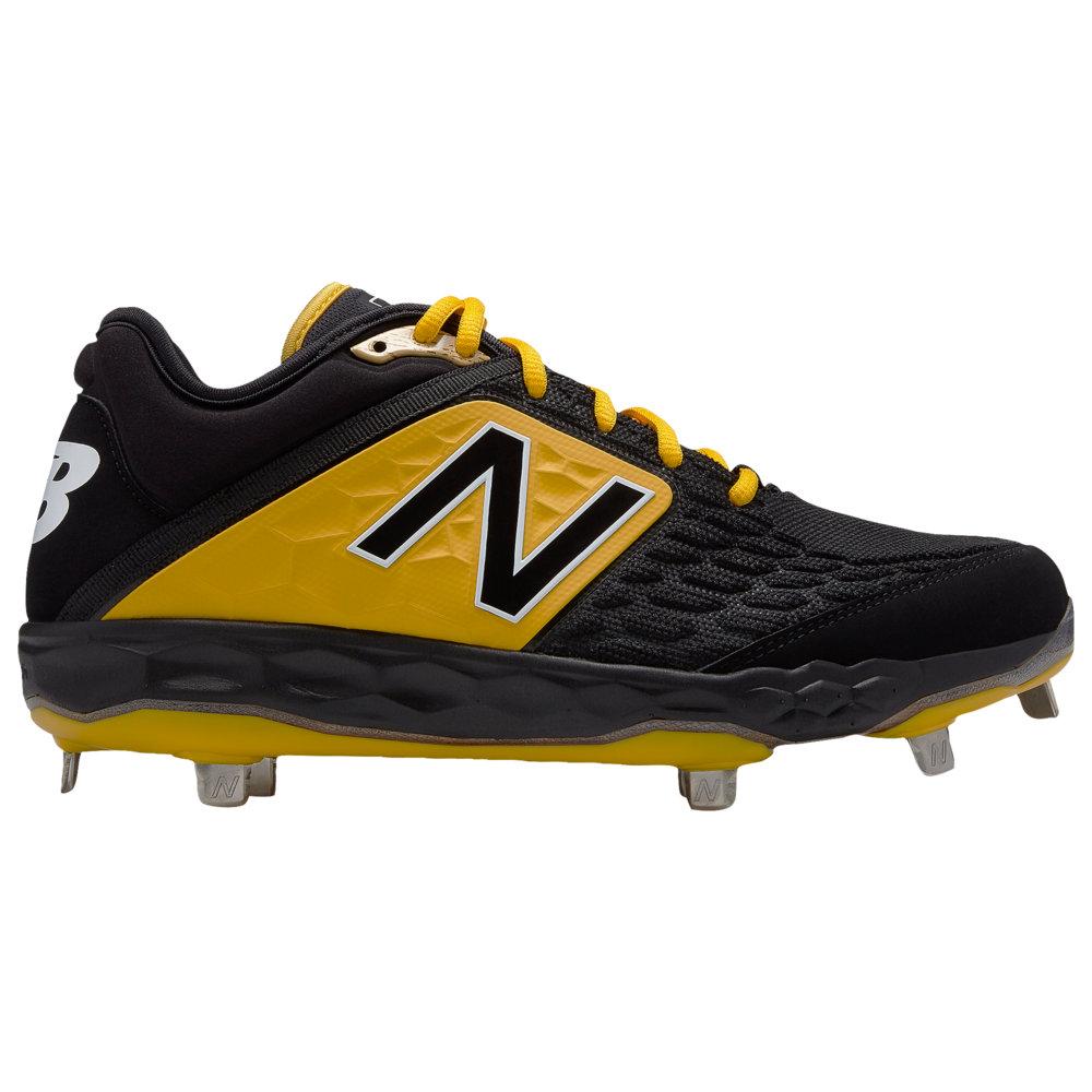 ニューバランス New Balance メンズ 野球 シューズ・靴【3000v4 Metal Low】Black/Yellow