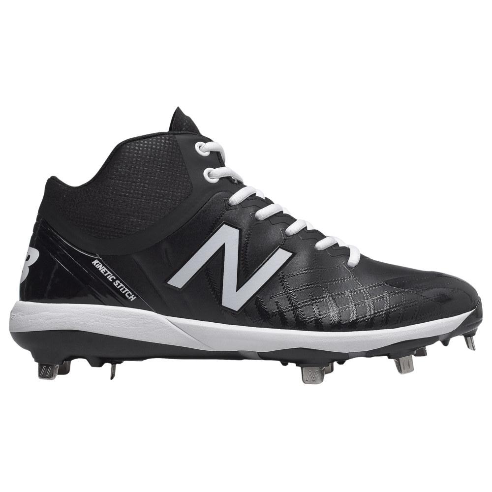 ニューバランス New Balance メンズ 野球 シューズ・靴【4040v5 Metal Mid】Black/Black