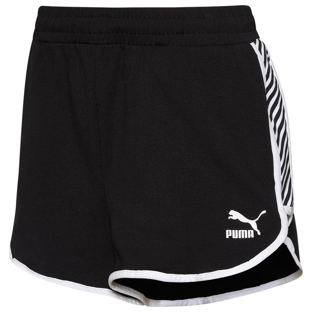 プーマ PUMA レディース ショートパンツ ボトムス・パンツ【Clash AOP Shorts】Black