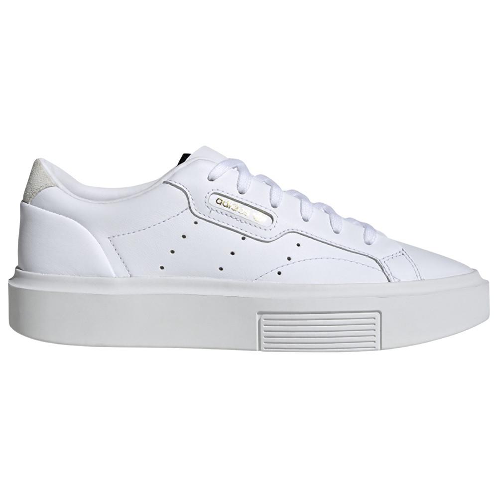 アディダス adidas Originals レディース スニーカー シューズ・靴【Sleek Super】White/Crystal White/Black