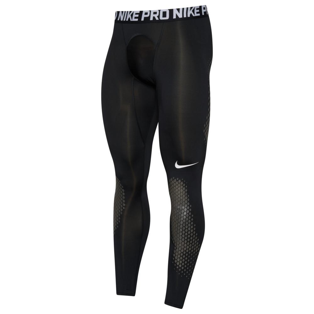 ナイキ Nike メンズ 野球 タイツ・スパッツ スパッツ・レギンス ボトムス・パンツ【Pro Slider Tights】Black/White