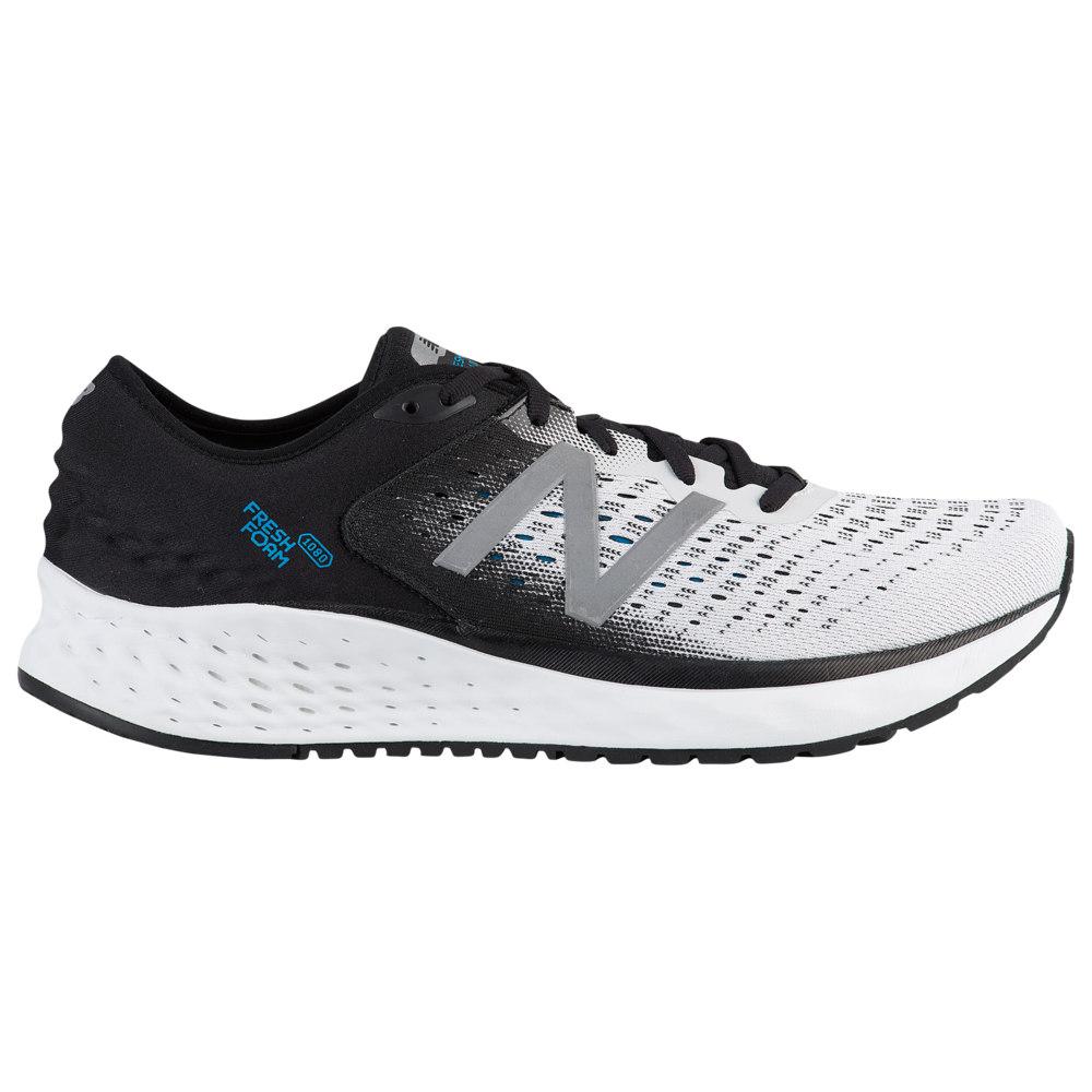 ニューバランス New Balance メンズ ランニング・ウォーキング シューズ・靴【Fresh Foam 1080 V9】White/Black/Deep Ozone Blue