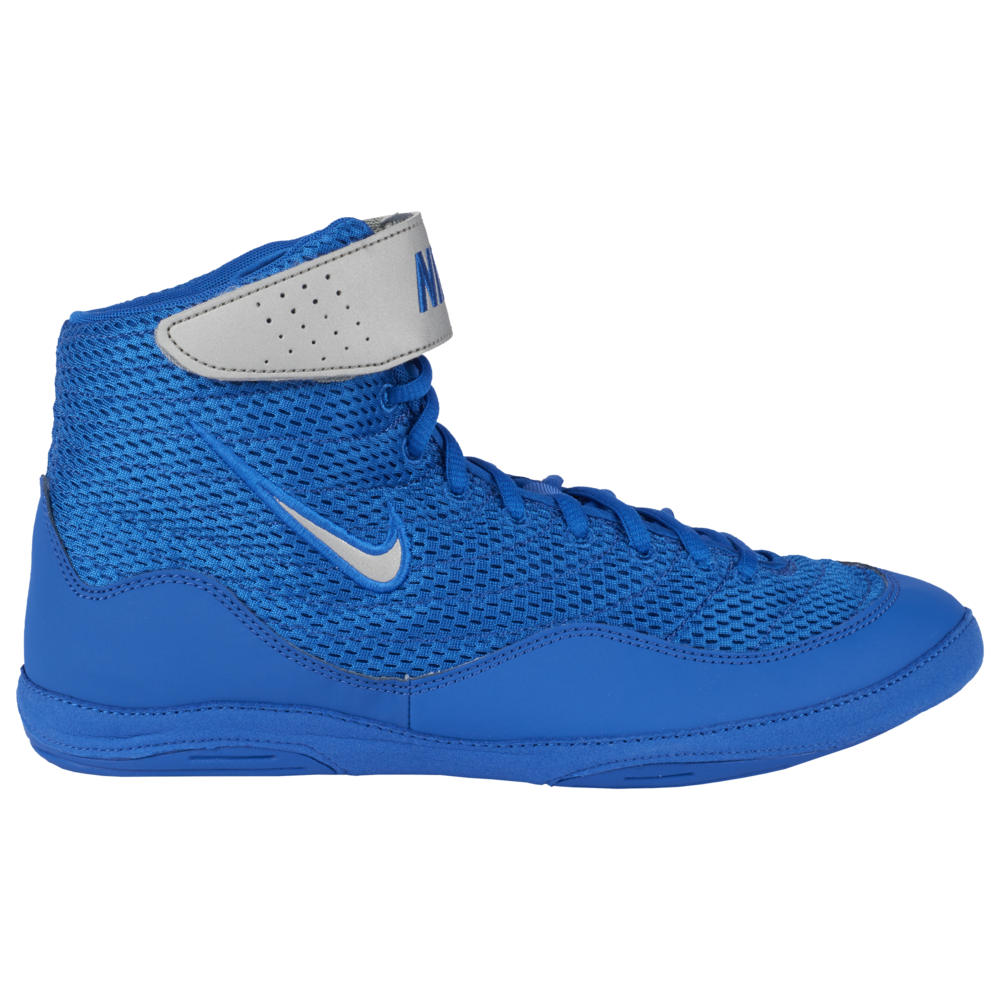 <title>ナイキ メンズ レスリング シューズ 靴 Royal Metallic Silver White Limited Edition サイズ交換無料 爆買い送料無料 Nike Inflict 3</title>