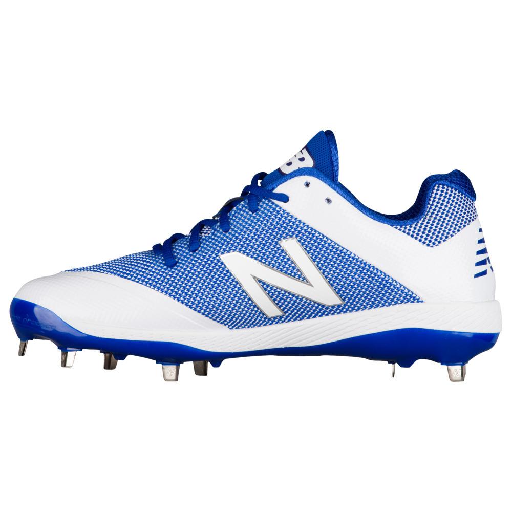 ニューバランス New Balance メンズ 野球 シューズ・靴【4040V4 Metal Low】Royal/White