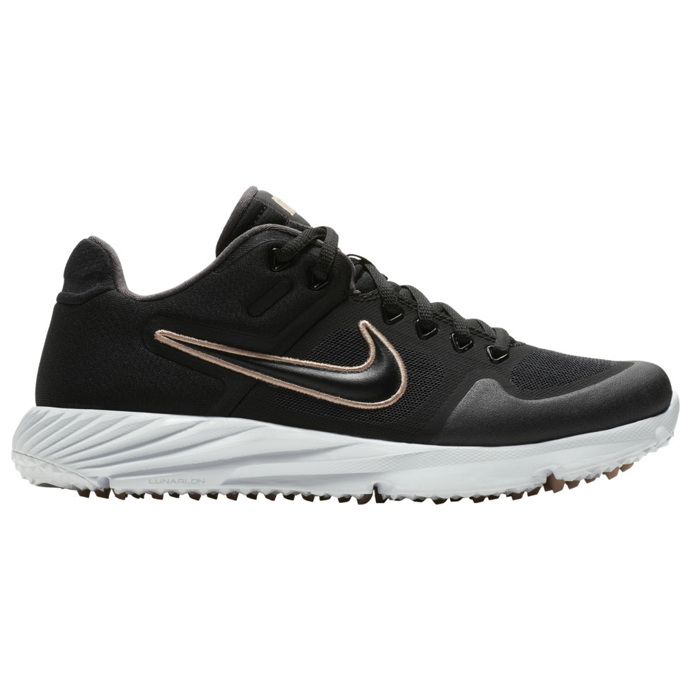 ナイキ Nike レディース 野球 シューズ・靴【Alpha Huarache Elite 2 Turf】Black/Black/White