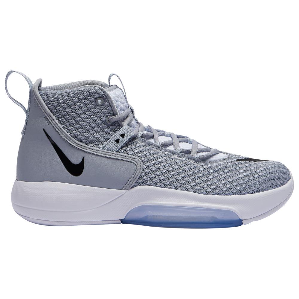 ナイキ Nike メンズ バスケットボール シューズ・靴【Zoom Rize】Wolf Grey/Black/White