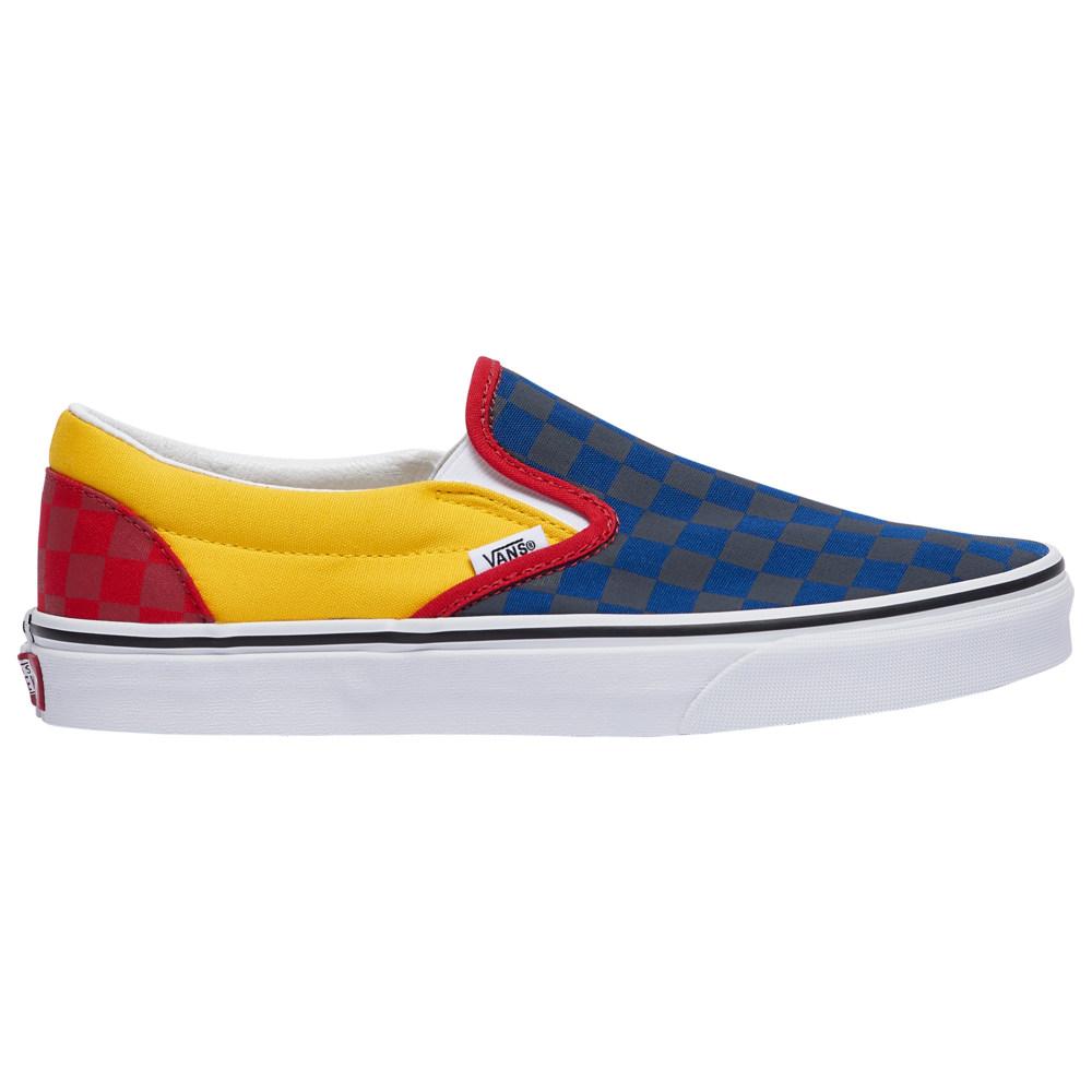 ヴァンズ Vans メンズ スケートボード スリッポン シューズ・靴【Classic Slip On】Navy/Yellow/Red RALLY