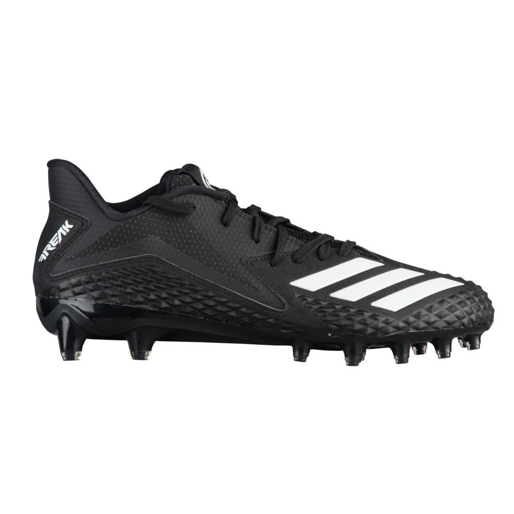 アディダス adidas メンズ アメリカンフットボール シューズ・靴【Freak X Carbon Low】Black/White/Black