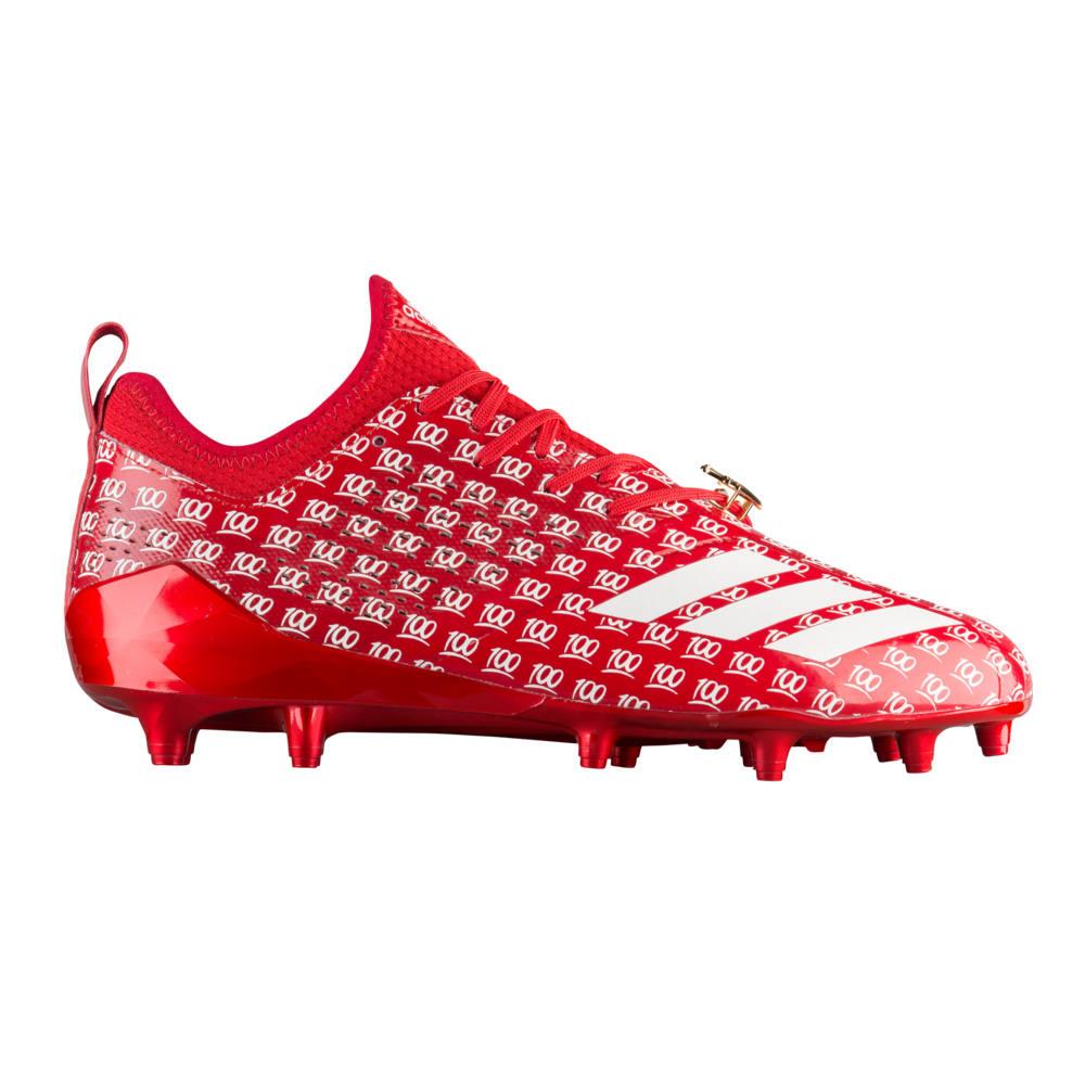 アディダス adidas メンズ アメリカンフットボール シューズ・靴【adiZero 5-Star 7.0 adiMoji】Collegiate Red/White/Collegiate Red 's
