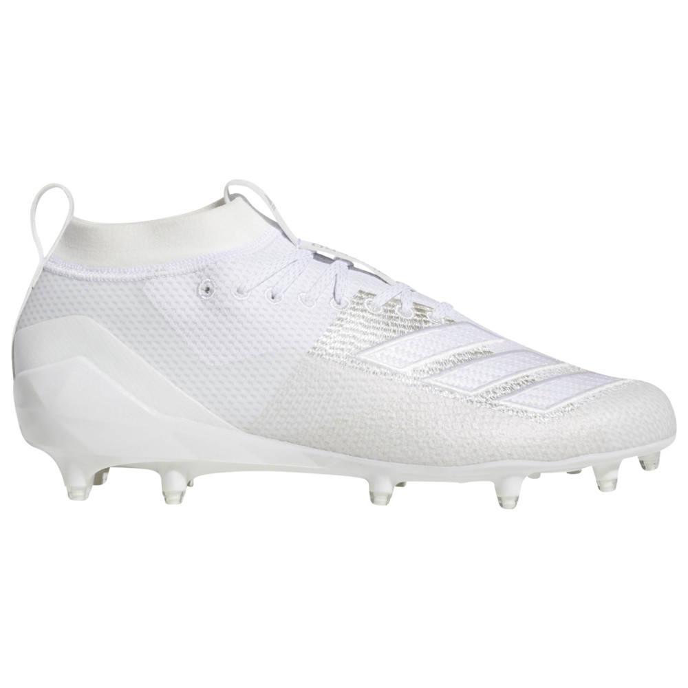 アディダス adidas メンズ アメリカンフットボール シューズ・靴【adiZero 8.0】White/White