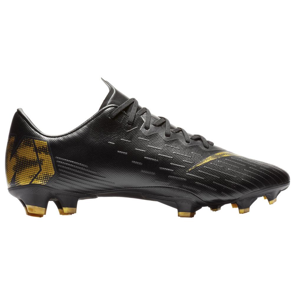 ナイキ Nike メンズ サッカー シューズ・靴【Mercurial Vapor 12 Pro FG】Black/Metallic Vivid Gold Black Lux