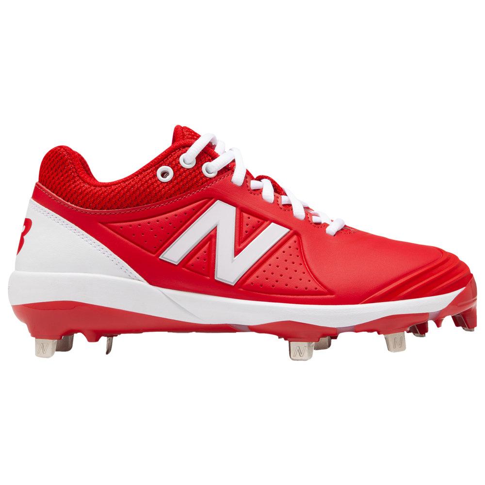 ニューバランス New Balance レディース 野球 シューズ・靴【FuseV2 Metal Low】Red/White