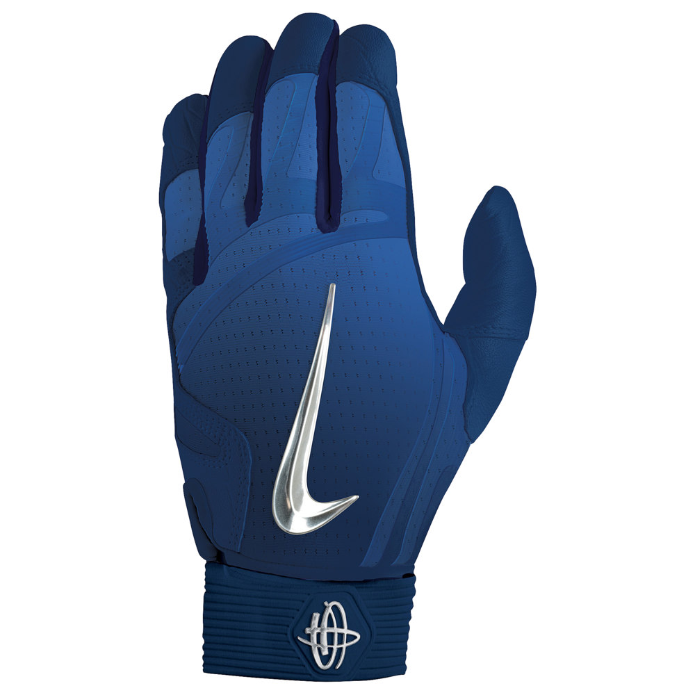 ナイキ Nike メンズ 野球 バッティンググローブ グローブ【Huarache Elite Batting Gloves】College Navy/Chrome