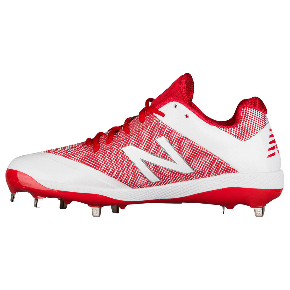 ニューバランス New Balance メンズ 野球 シューズ・靴【4040V4 Metal Low】Red/White