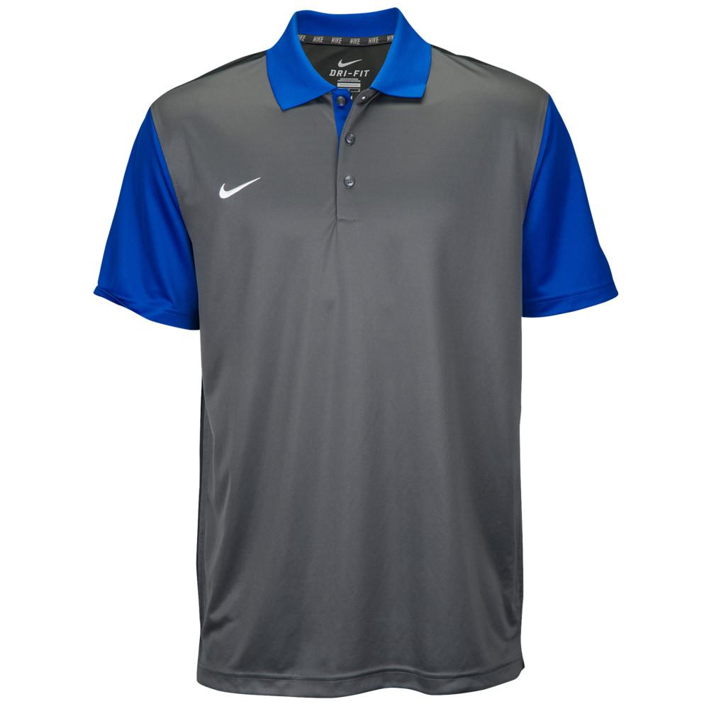 ナイキ Nike メンズ フィットネス・トレーニング トップス【Team Preseason Polo】Royal/Grey/Anthracite