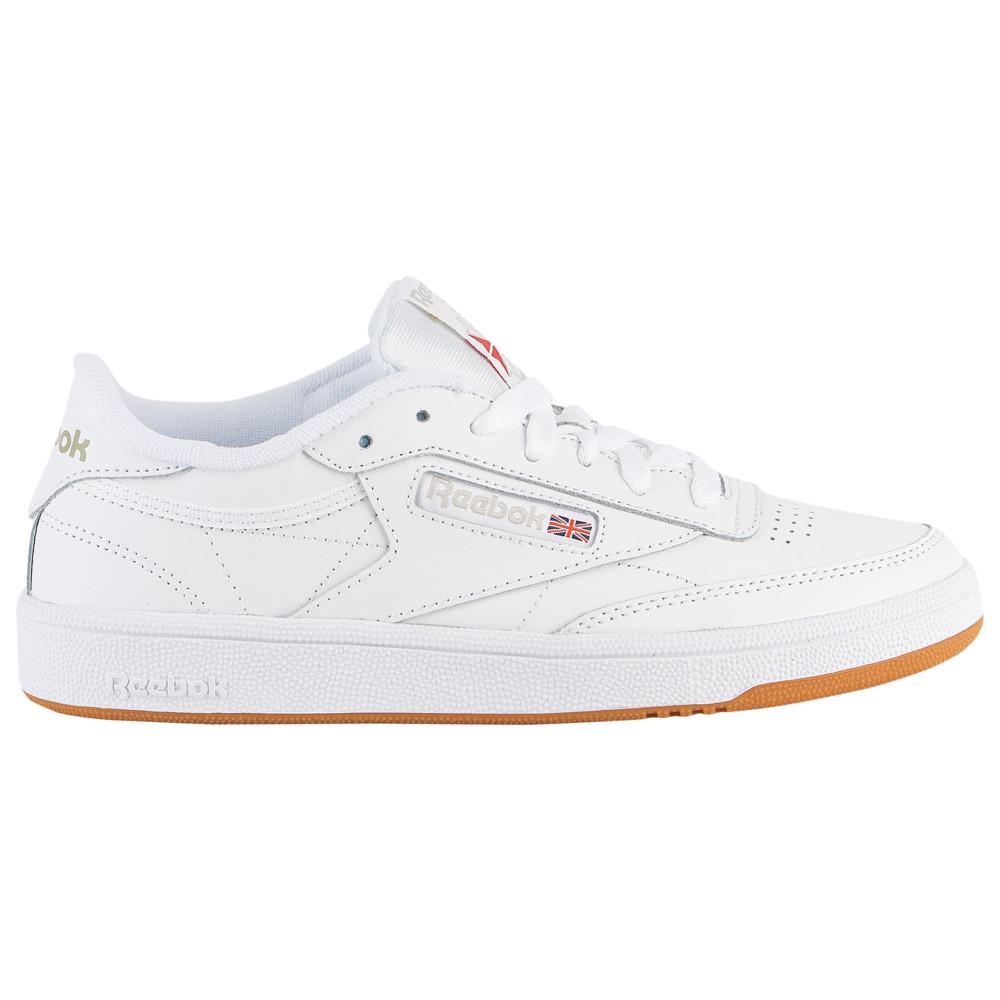 リーボック Reebok レディース ランニング・ウォーキング シューズ・靴【Club C 85】White/Royal/Gum