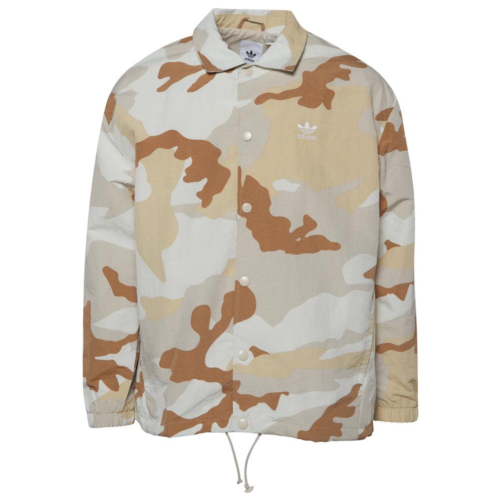 アディダス adidas Originals メンズ ジャケット コーチジャケット アウター【Camo Coaches Jacket】Clear Brown