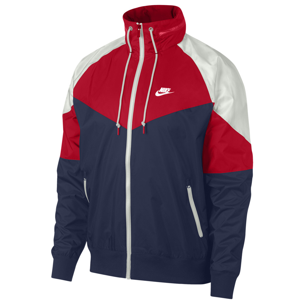ナイキ Nike メンズ ジャケット アウター【Windrunner + Jacket】Midnight Navy/University Red/Summit White