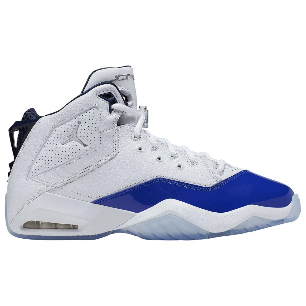 ナイキ ジョーダン Jordan メンズ バスケットボール シューズ・靴【B'Loyal】White/Metallic Silver/Hyper Royal