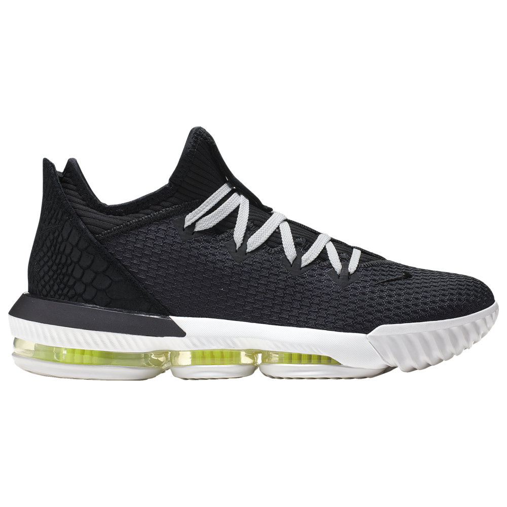 ナイキ Nike メンズ バスケットボール シューズ・靴【LeBron 16 Low CP】Lebron James Black/Summit White/Volt Glow