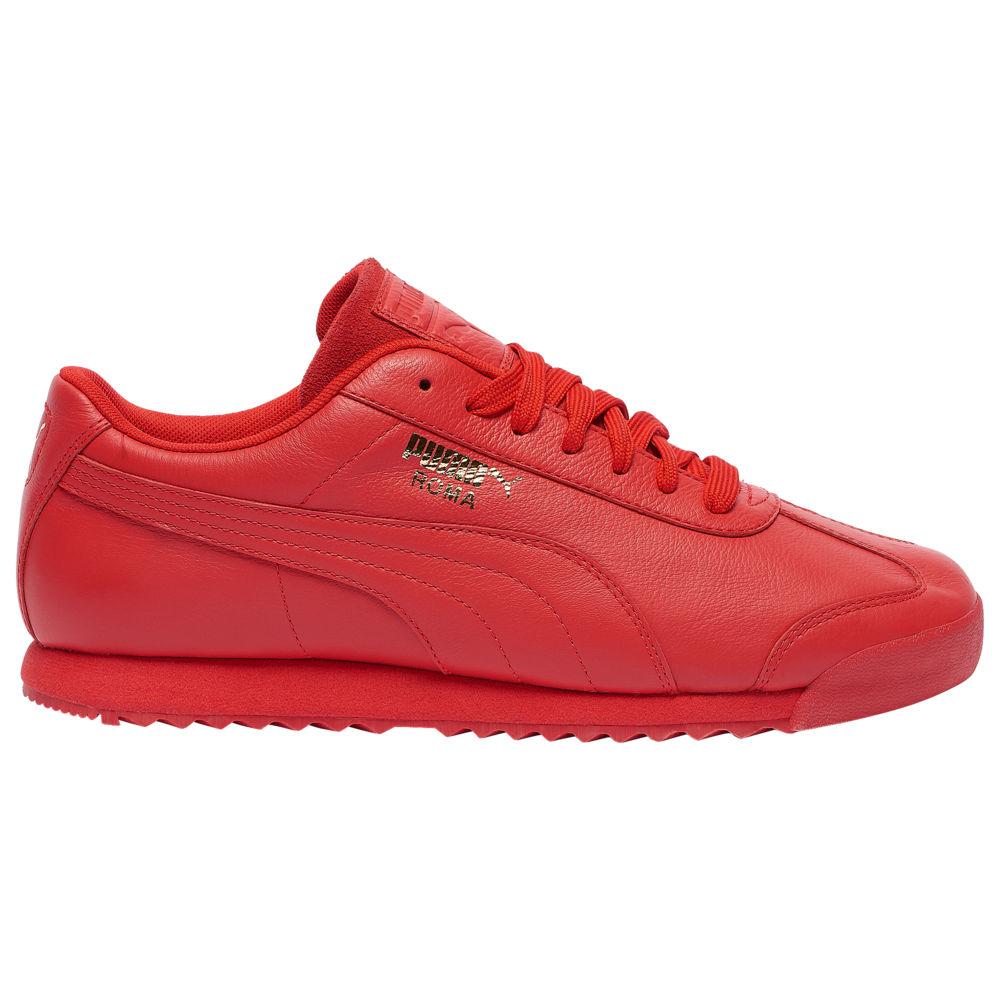 プーマ PUMA メンズ フィットネス・トレーニング シューズ・靴【Roma Basic】Hi Risk Red/Team Gold