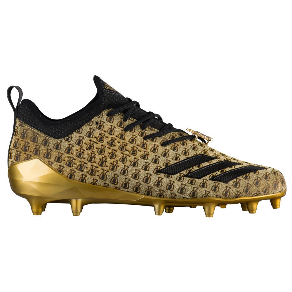 アディダス adidas メンズ アメリカンフットボール シューズ・靴【adiZero 5-Star 7.0 adiMoji】Metallic Gold/Black/Raw Gold Snoop