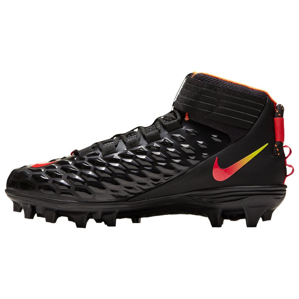 ナイキ Nike メンズ アメリカンフットボール シューズ・靴【Force Savage Pro 2】Black/Orbit Red/Orbit Total Orange