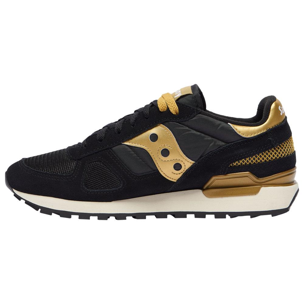 サッカニー Saucony メンズ ランニング・ウォーキング シューズ・靴【Shadow Original】Black/Gold