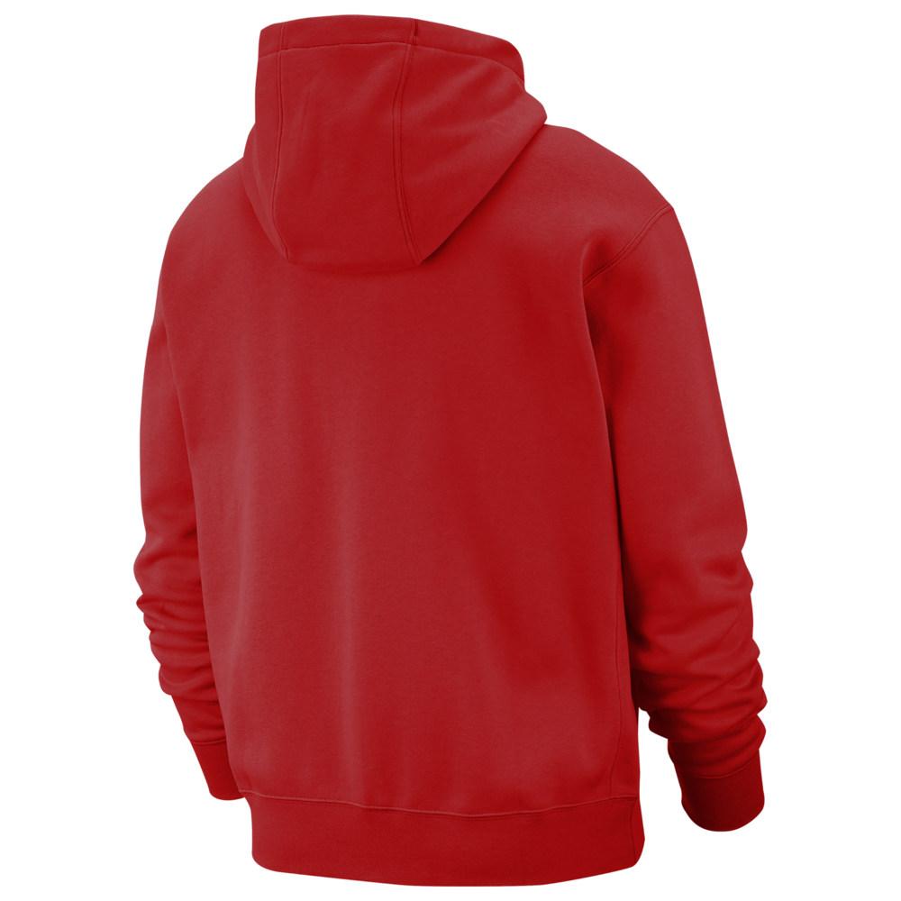 ナイキ Nike メンズ パーカー トップス【Club Full-Zip Hoodie】University Red/White
