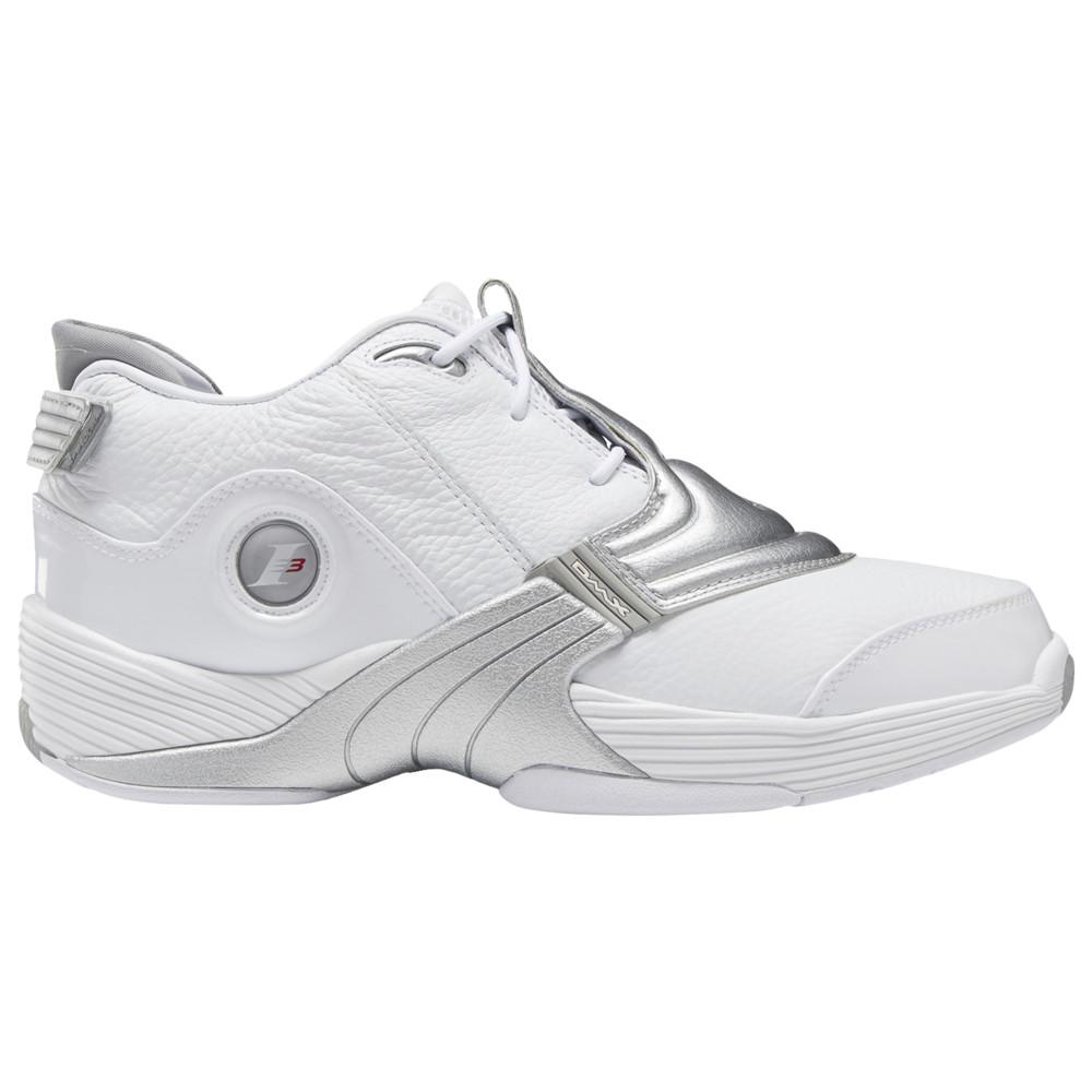 リーボック Reebok メンズ スニーカー シューズ・靴【Answer V】White/Metallic Silver available to ship late November