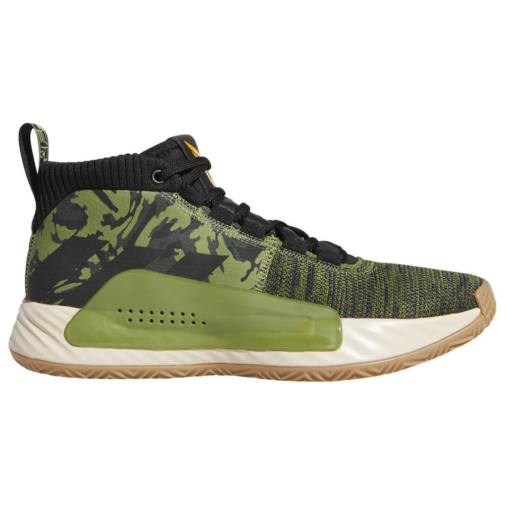 アディダス adidas メンズ バスケットボール シューズ・靴【Dame 5】Damian Lillard Tech Olive/Black/Active Gold