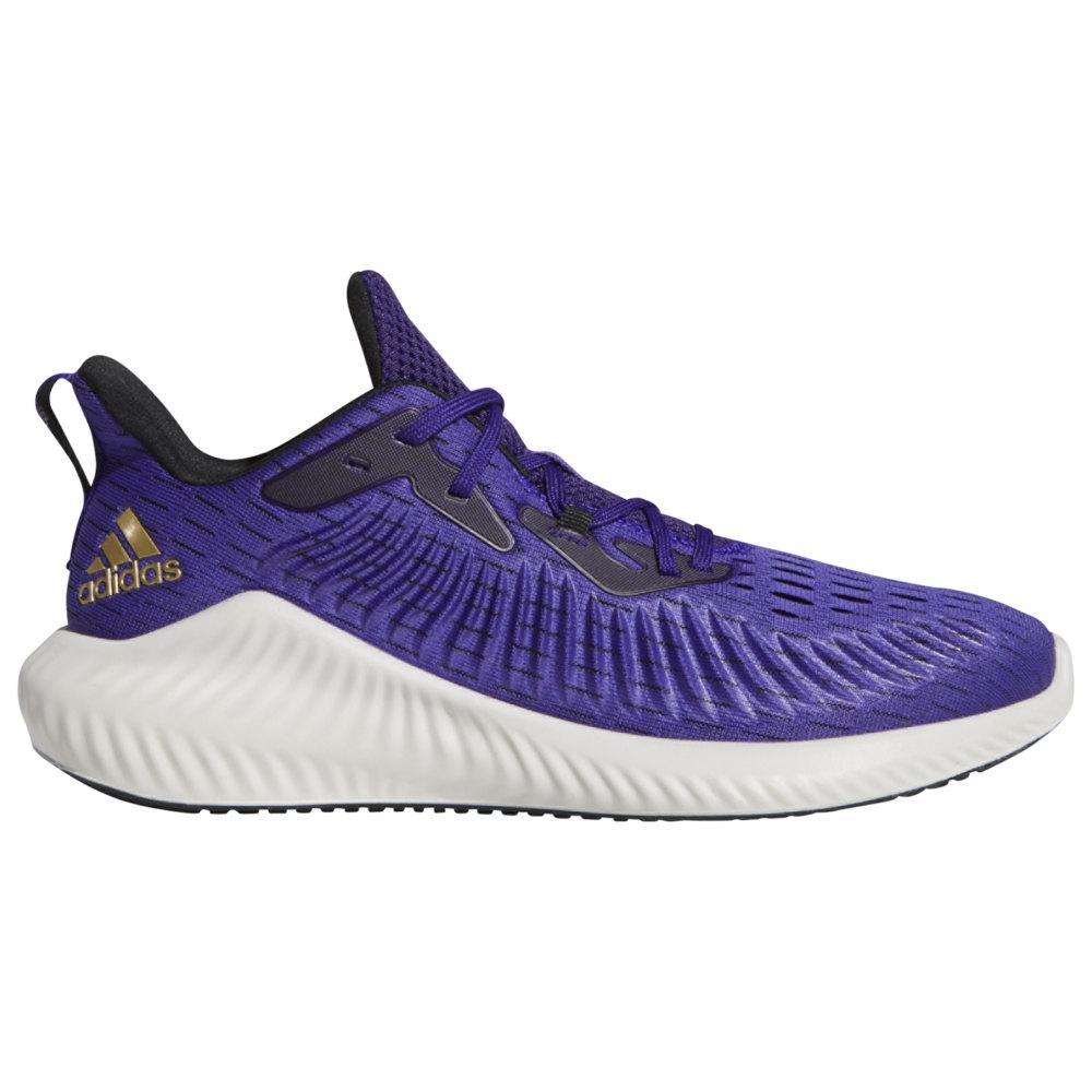 アディダス adidas メンズ ランニング・ウォーキング シューズ・靴【Alphabounce + Run】Team College Purple/Gold Metallic/Core Black