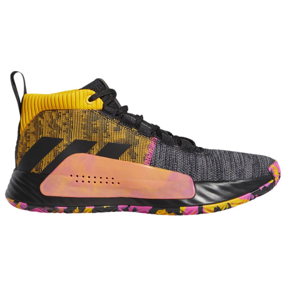 アディダス adidas メンズ バスケットボール シューズ・靴【Dame 5】Damian Lillard Black/Active Gold/Shock Pink