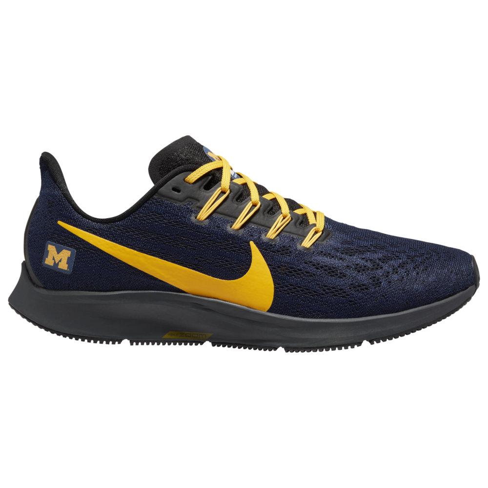 ナイキ Nike メンズ ランニング・ウォーキング エアズーム シューズ・靴【Air Zoom Pegasus 36 NCAA】NCAA Michigan Wolverines College Navy/University Gold/Black