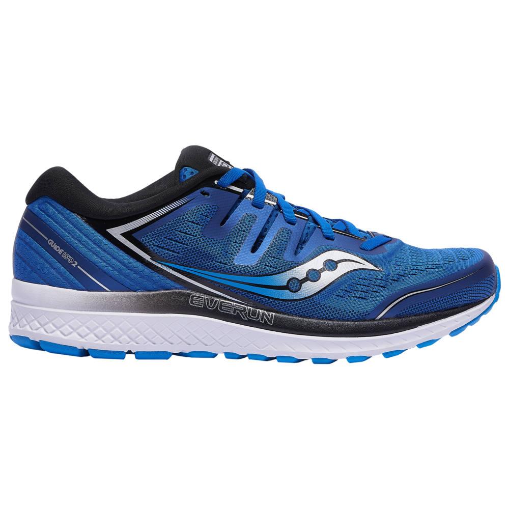 サッカニー Saucony メンズ ランニング・ウォーキング シューズ・靴【Guide ISO 2】Blue/White