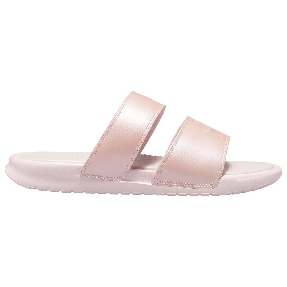 ナイキ Nike レディース サンダル・ミュール シューズ・靴【Benassi Duo Ultra Slide】Echo Pink/Echo Pink