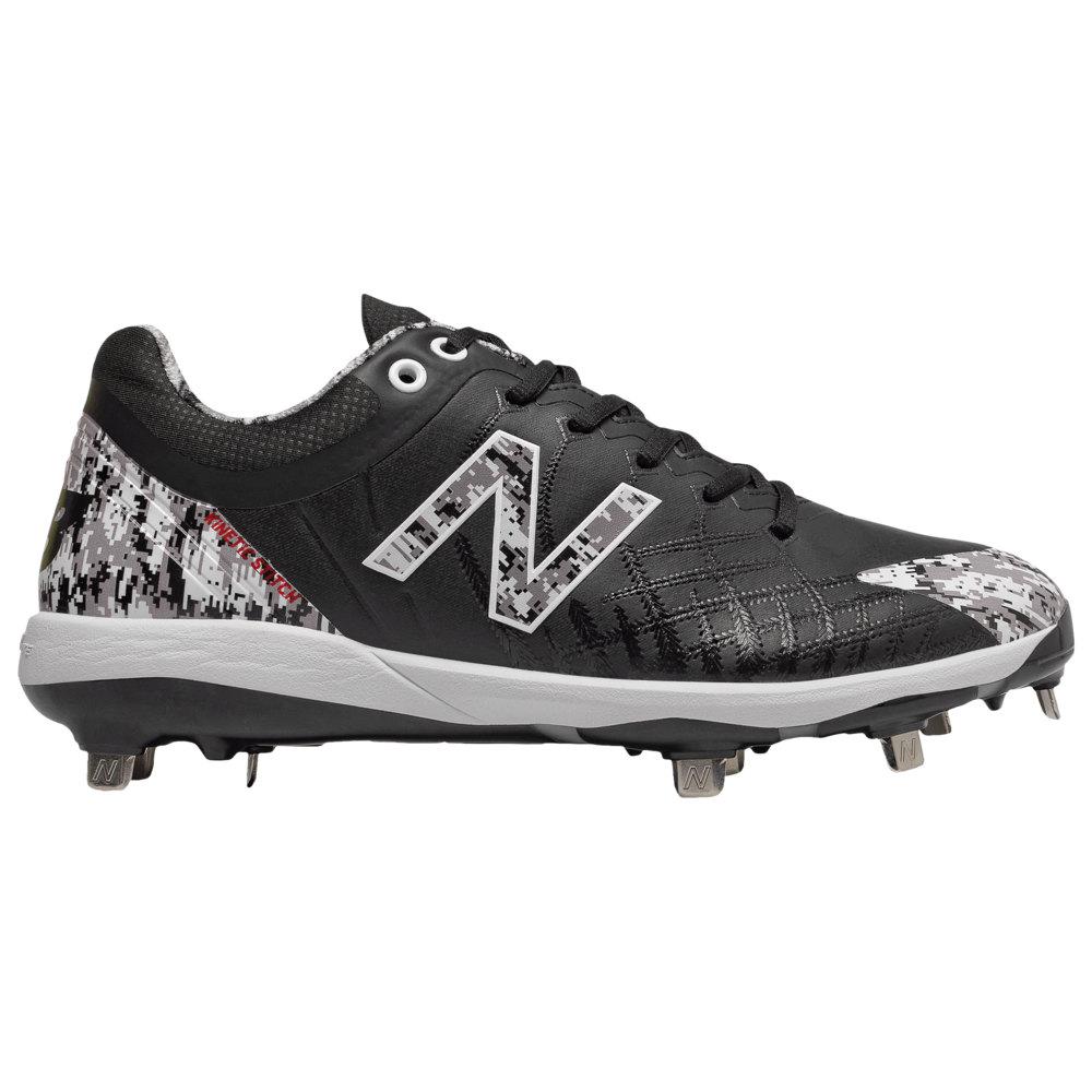 ニューバランス New Balance メンズ 野球 シューズ・靴【4040v5 Metal Low】Black/Camo Dustin Pedroia