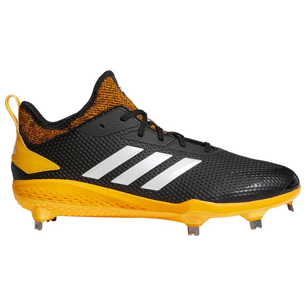 アディダス adidas メンズ 野球 シューズ・靴【adiZERO Afterburner V】Black/Collegiate Gold