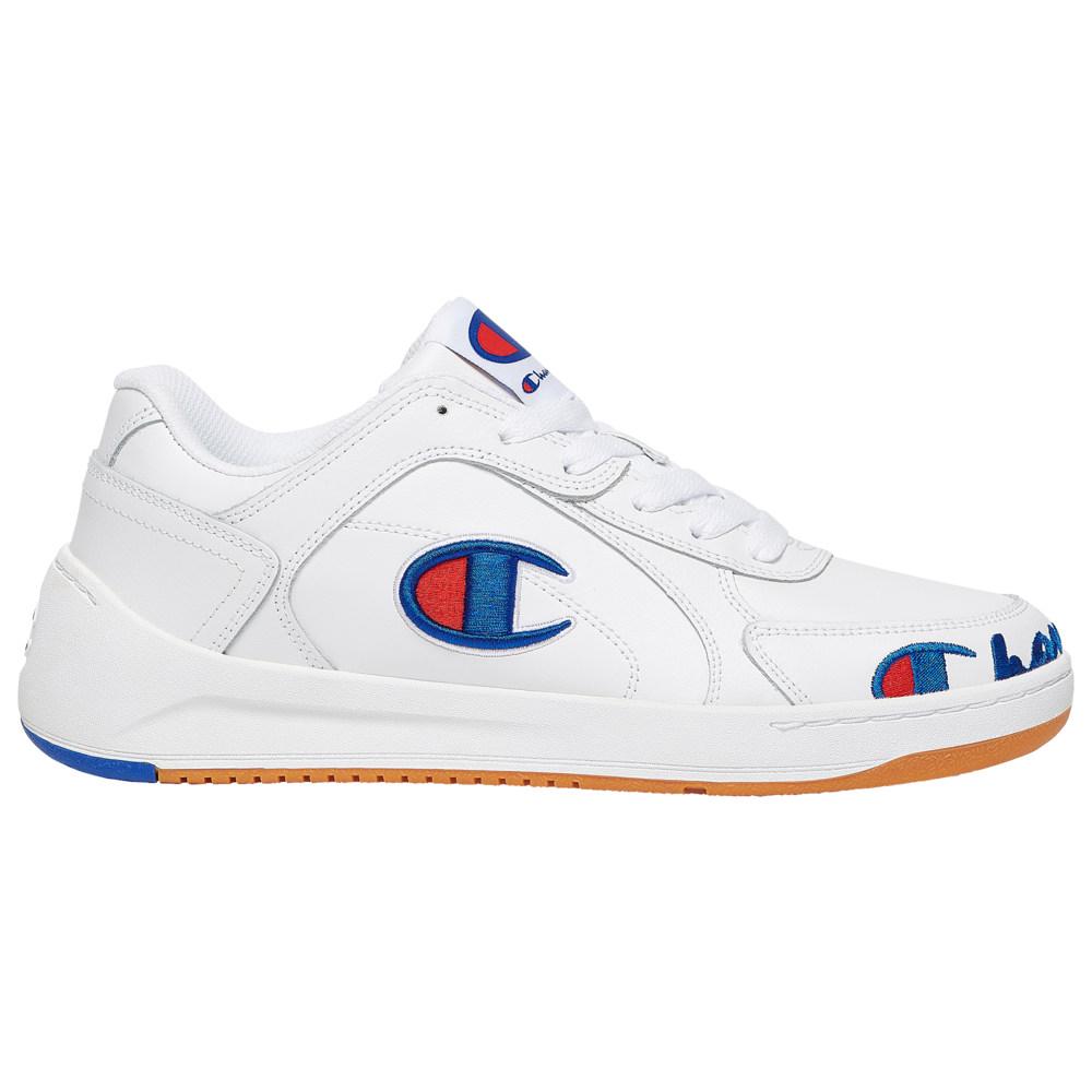 チャンピオン Champion メンズ バスケットボール シューズ・靴【Super C Court Leather】White