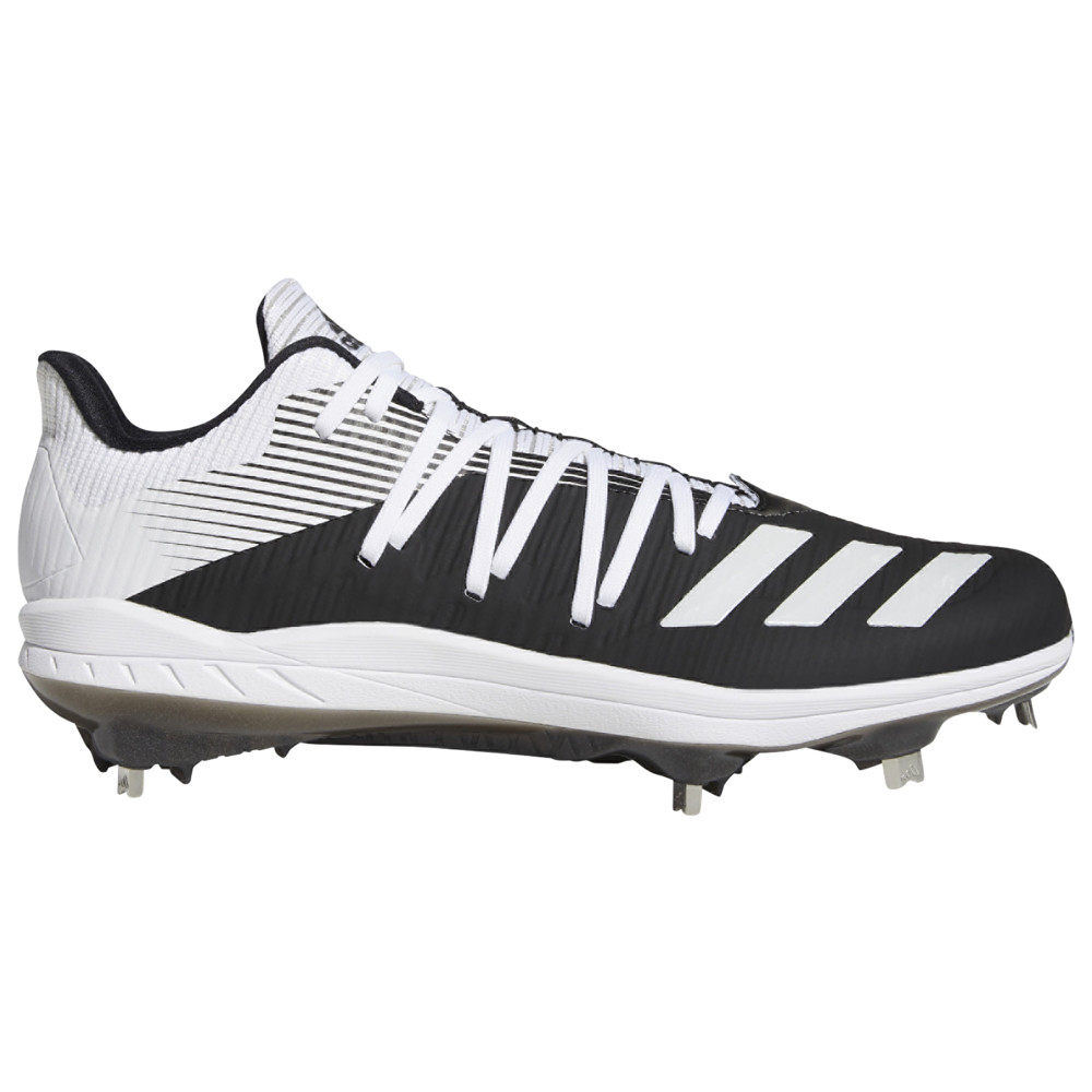 アディダス adidas メンズ 野球 シューズ・靴【adiZERO Afterburner 6】Black/White/Silver Metallic