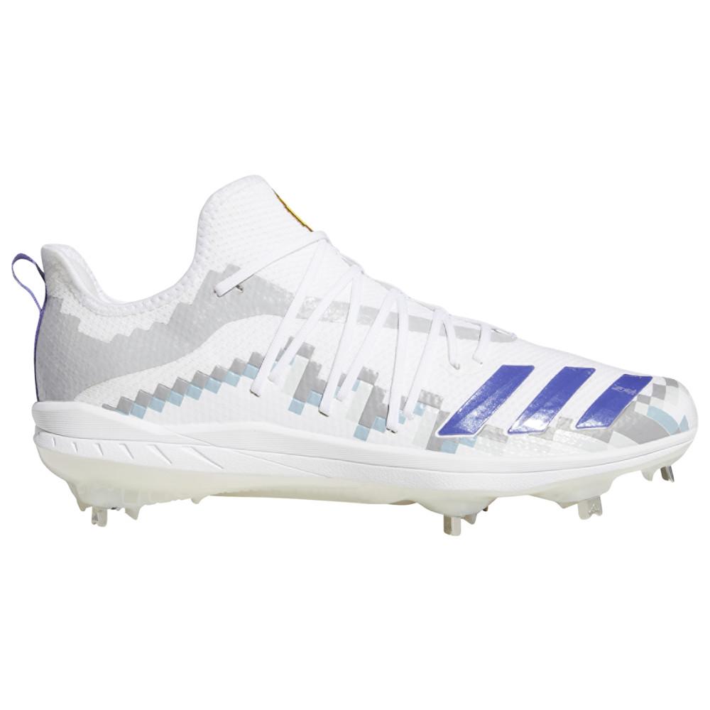 アディダス adidas メンズ 野球 シューズ・靴【adiZERO Afterburner 6 Grail 8-Bit】White/Black/Grey Two